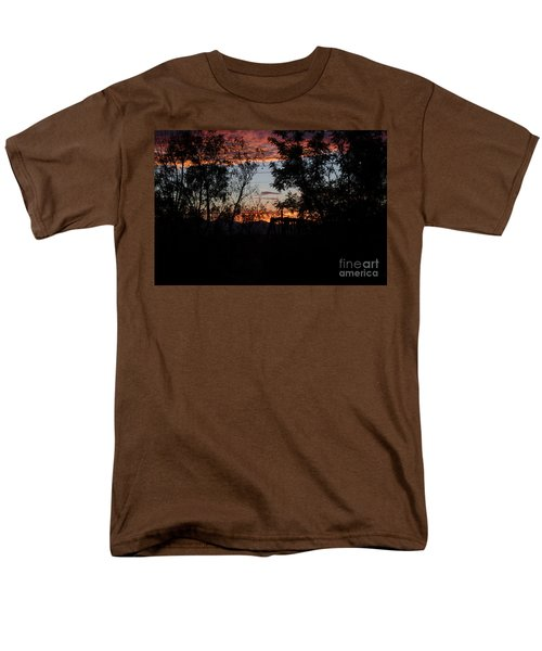 Men's T-Shirt  (Regular Fit) featuring the photograph Spectacular Sky by Anne Rodkin