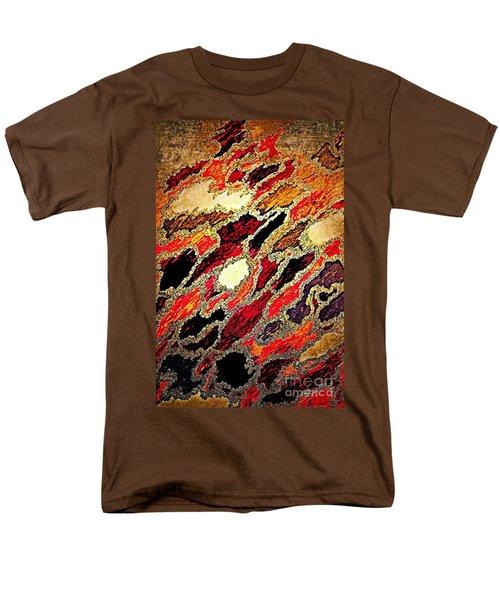 Spirit Journey Through The Fire Men's T-Shirt  (Regular Fit) by Rachel Hannah
