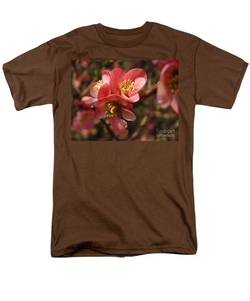 Spring Blooms Men's T-Shirt  (Regular Fit) by Rebecca Overton