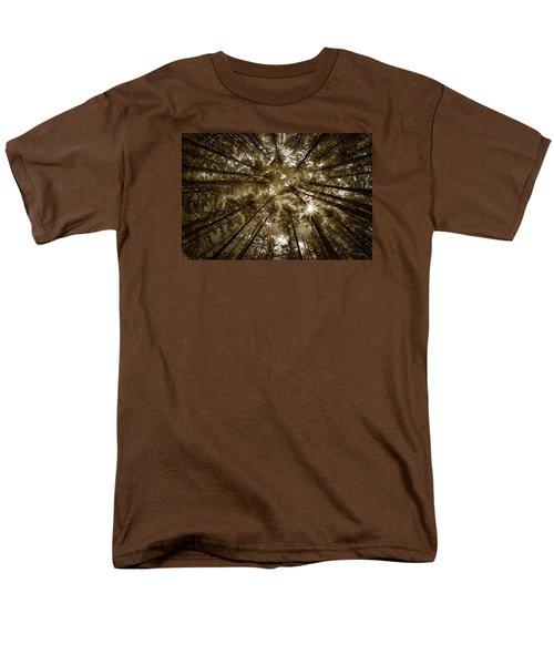 Star Light Men's T-Shirt  (Regular Fit)