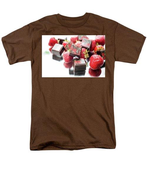 Strawberry Delight Men's T-Shirt  (Regular Fit) by Sabine Edrissi