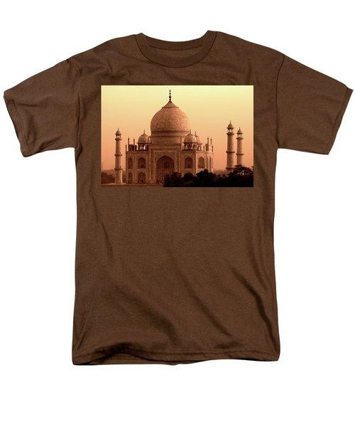 Taj Mahal Men's T-Shirt  (Regular Fit)