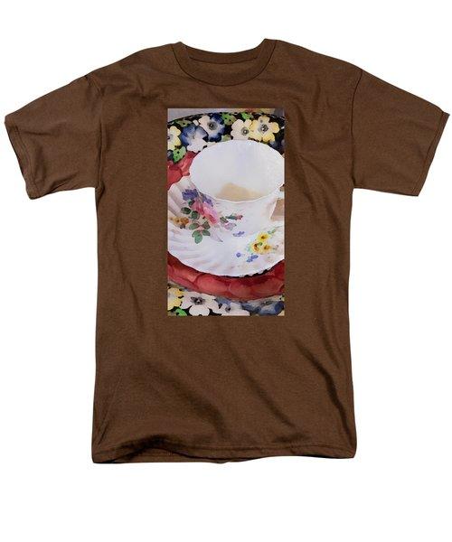 Tea Time Men's T-Shirt  (Regular Fit) by Bonnie Bruno