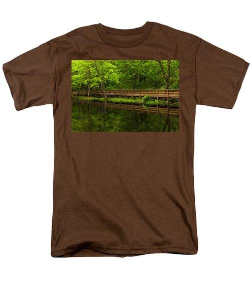 The Bridge Men's T-Shirt  (Regular Fit) by Karol Livote