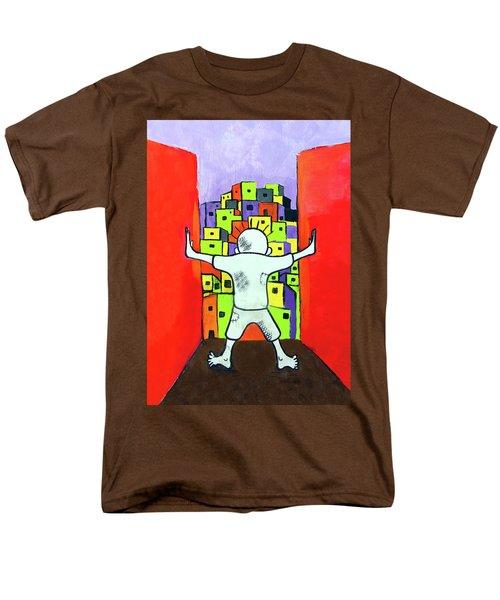 Men's T-Shirt  (Regular Fit) featuring the photograph The Man by Munir Alawi