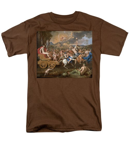 The Triumph Of Bacchus Men's T-Shirt  (Regular Fit) by Nicolas Poussin