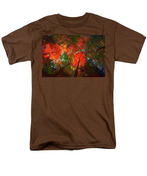 Tree Tops Men's T-Shirt  (Regular Fit) by David Stasiak