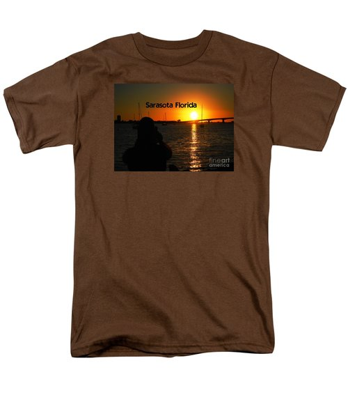 Men's T-Shirt  (Regular Fit) featuring the photograph Tropical Sunset by Gary Wonning