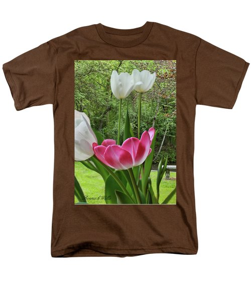 Men's T-Shirt  (Regular Fit) featuring the photograph Tulips by Bonnie Willis