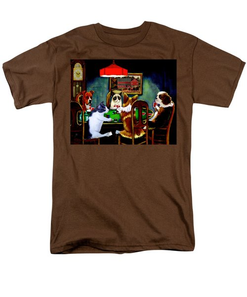 Under The Table Men's T-Shirt  (Regular Fit) by Ron Chambers