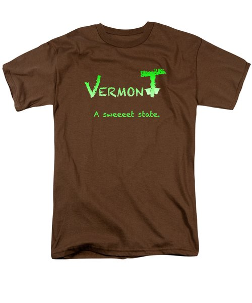 Vermont Sweeet Men's T-Shirt  (Regular Fit) by George Robinson