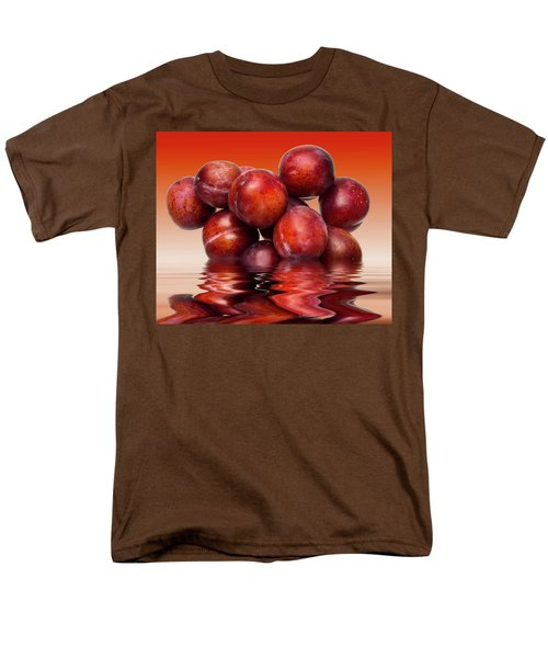 Victoria Plums Men's T-Shirt  (Regular Fit) by David French