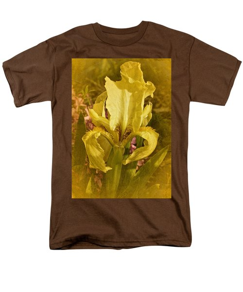 Vintage Dwarf Iris No. 2 Men's T-Shirt  (Regular Fit) by Richard Cummings