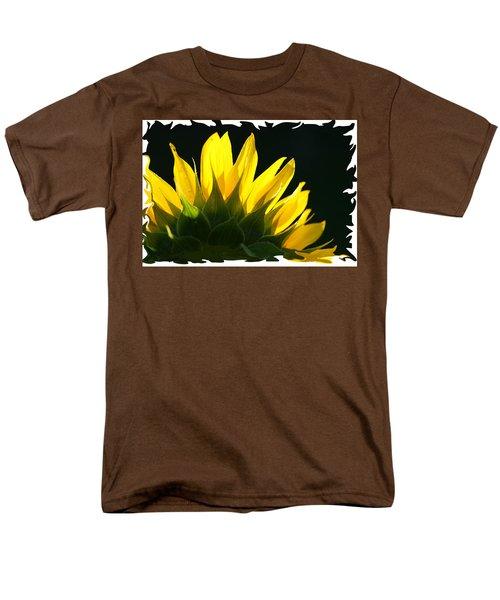 Wild Sunflower Men's T-Shirt  (Regular Fit) by Shari Jardina