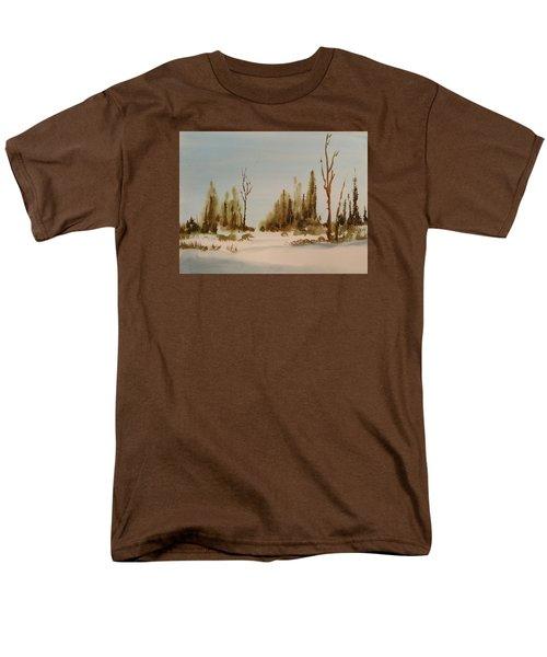 Winter Morning Men's T-Shirt  (Regular Fit) by Larry Hamilton