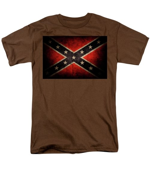 Confederate Flag Men's T-Shirt  (Regular Fit) by Les Cunliffe