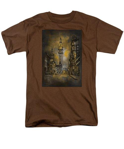 1910y Madison Avenue Ny. Men's T-Shirt  (Regular Fit) by Andrzej Szczerski