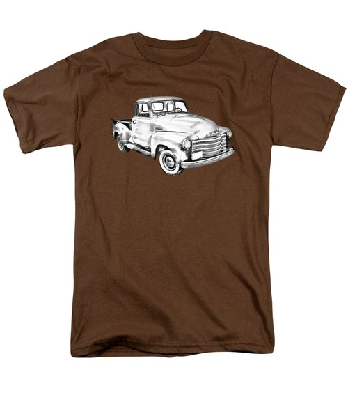 1947 Chevrolet Thriftmaster Pickup Illustration Men's T-Shirt  (Regular Fit) by Keith Webber Jr