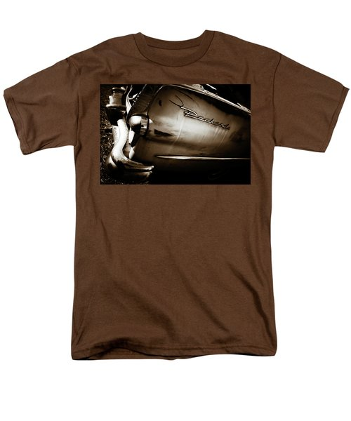Men's T-Shirt  (Regular Fit) featuring the photograph 1950s Packard Tail by Marilyn Hunt
