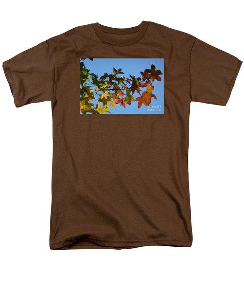 Men's T-Shirt  (Regular Fit) featuring the photograph Autumn Leaves by Jean Bernard Roussilhe