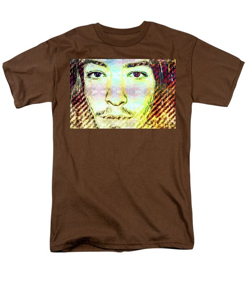 Ezra Miller Men's T-Shirt  (Regular Fit) by Svelby Art