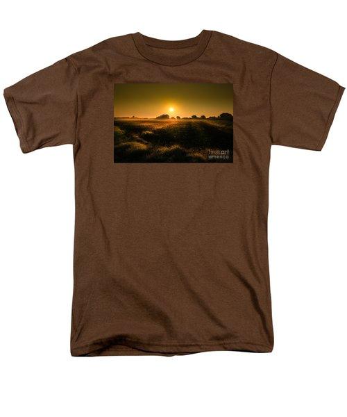 Foggy Morning Men's T-Shirt  (Regular Fit) by Franziskus Pfleghart