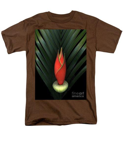 Palm Of Fire Men's T-Shirt  (Regular Fit) by Christian Slanec