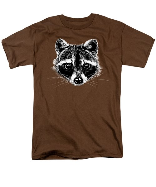 Raccoon Men's T-Shirt  (Regular Fit) by Masha Batkova