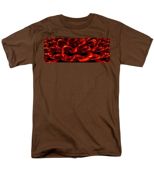 Men's T-Shirt  (Regular Fit) featuring the digital art Red by Lyle Hatch
