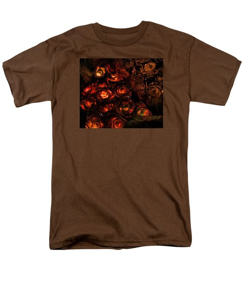 Rose Sparkle Men's T-Shirt  (Regular Fit) by JAMART Photography
