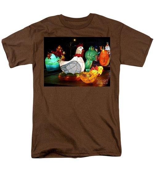 The 2017 Lantern Festival In Taiwan Men's T-Shirt  (Regular Fit)