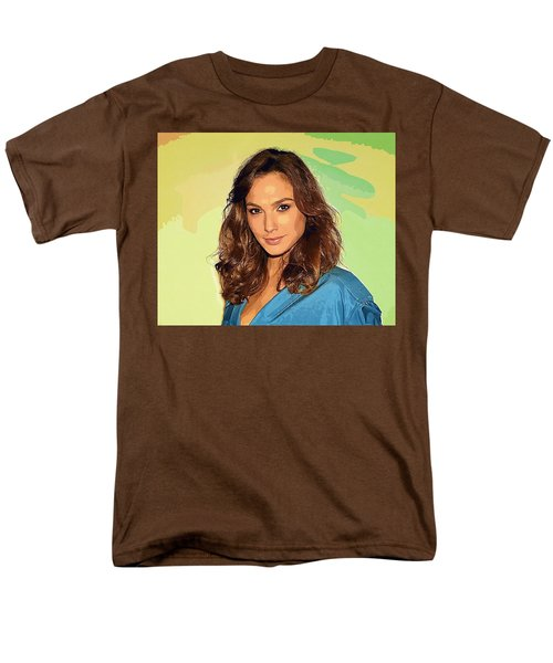 Gal Gadot Art Men's T-Shirt  (Regular Fit) by Best Actors
