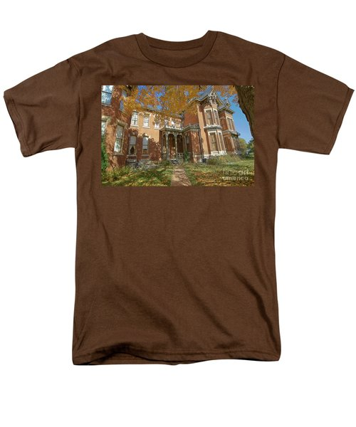 Vaile Mansion Men's T-Shirt  (Regular Fit) by Liane Wright