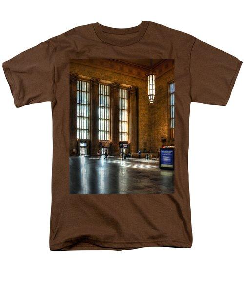 30th Street Station Men's T-Shirt  (Regular Fit) by Rick Mosher