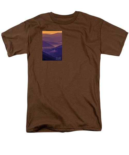 Allegheny Mountain Sunrise Men's T-Shirt  (Regular Fit) by Thomas R Fletcher