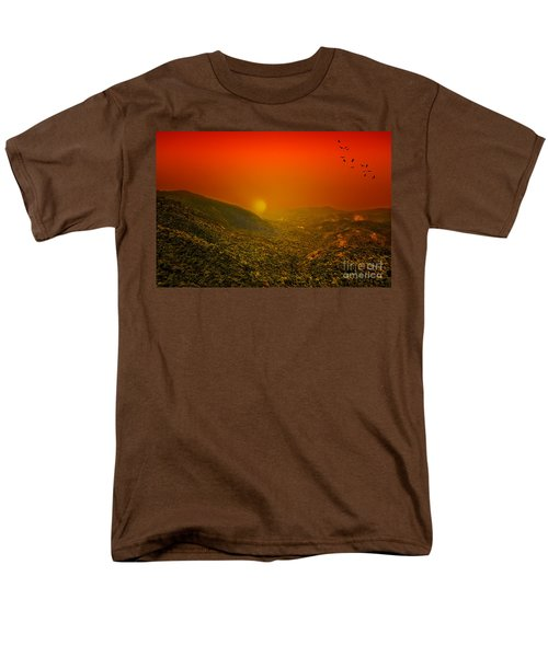 Sunset Men's T-Shirt  (Regular Fit) by Charuhas Images