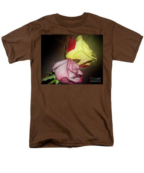 Men's T-Shirt  (Regular Fit) featuring the photograph Roses by Elvira Ladocki
