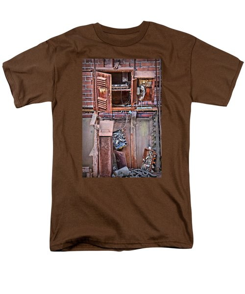 Men's T-Shirt  (Regular Fit) featuring the photograph A Collaboration Of Rust by DJ Florek