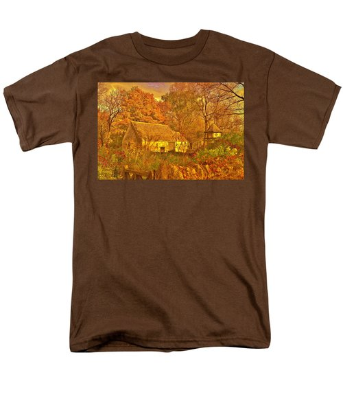 A Cotswald Fall  Men's T-Shirt  (Regular Fit) by Daniel Thompson