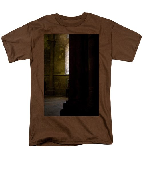 Men's T-Shirt  (Regular Fit) featuring the photograph Slice Of Light by Lorraine Devon Wilke