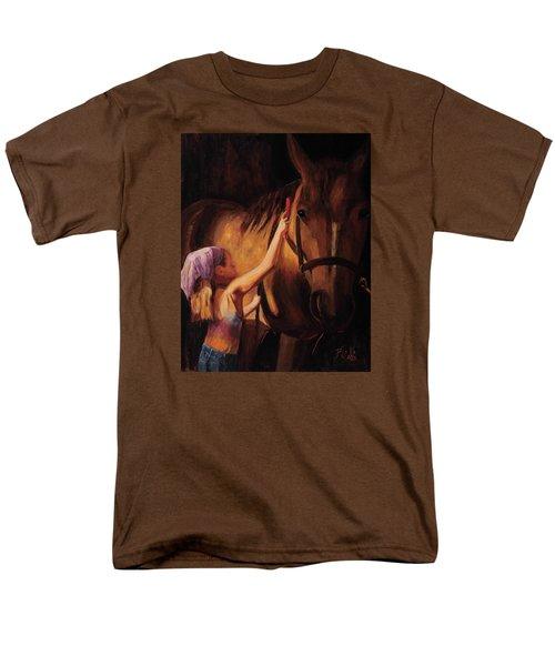 A Girls First Love Men's T-Shirt  (Regular Fit) by Billie Colson