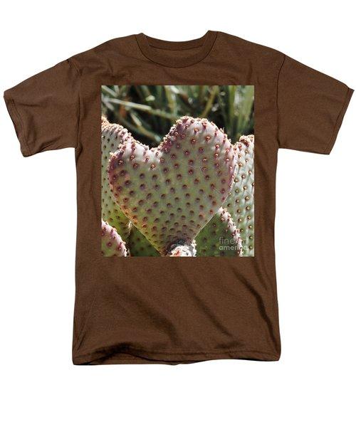 A Heart In The Desert Men's T-Shirt  (Regular Fit)