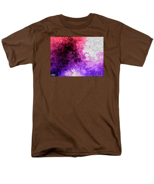 Men's T-Shirt  (Regular Fit) featuring the painting A Lotta Fight by Holley Jacobs