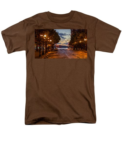 A Night Out On The Town Men's T-Shirt  (Regular Fit) by Anthony Fishburne