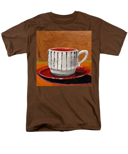 Men's T-Shirt  (Regular Fit) featuring the painting A Perfect Cup by John Williams