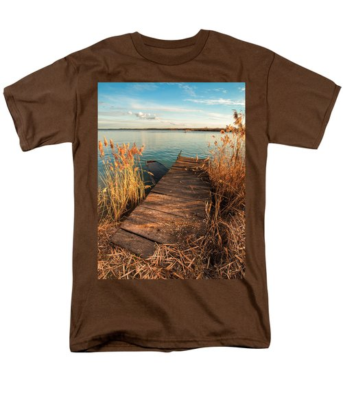 A Place Where Lovers Meet Men's T-Shirt  (Regular Fit) by Davorin Mance