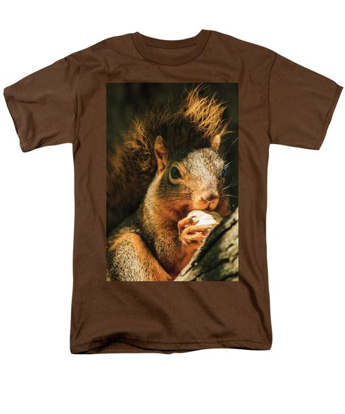 A Squirrel And His Nut Men's T-Shirt  (Regular Fit)