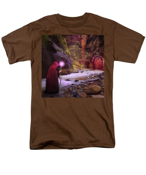 A Touch Of Fantasy - The Road Less Men's T-Shirt  (Regular Fit) by John Edwards