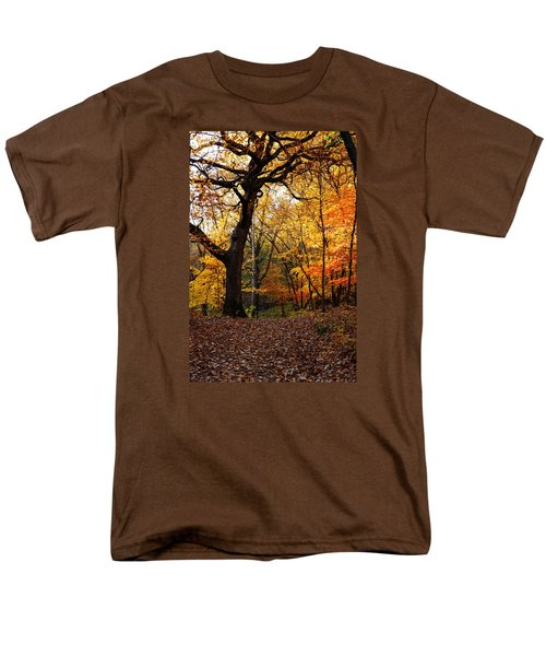 Men's T-Shirt  (Regular Fit) featuring the photograph A Walk In The Woods 2 by Steven Clipperton