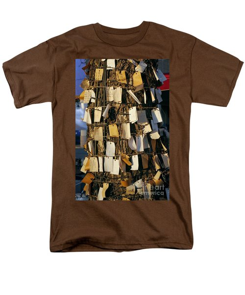 A Wishing Tree With Many Requests Men's T-Shirt  (Regular Fit) by Yali Shi
